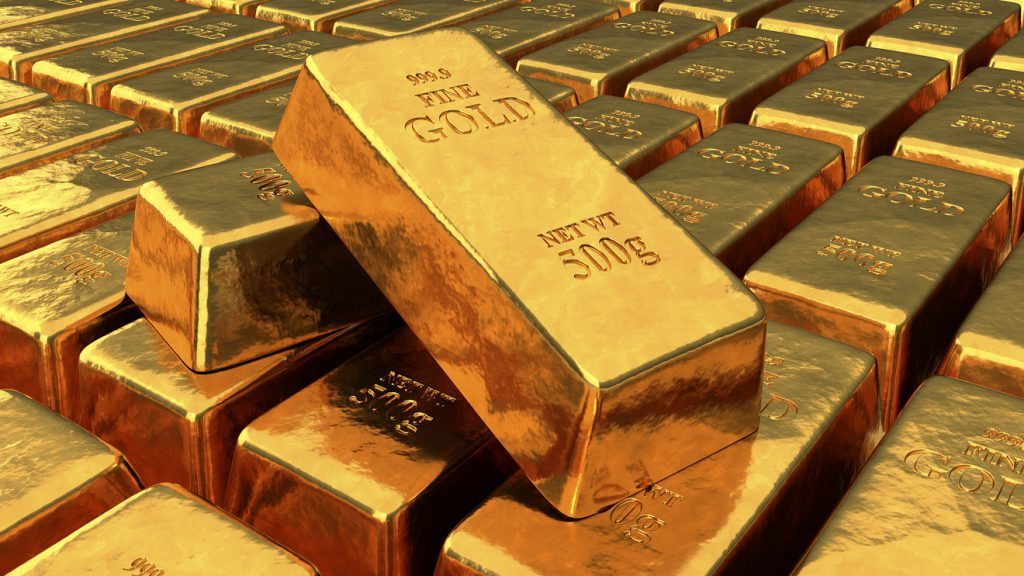 در اواخر قرن نوزدهم پشتوانه پول چاپ شده، طلا بود