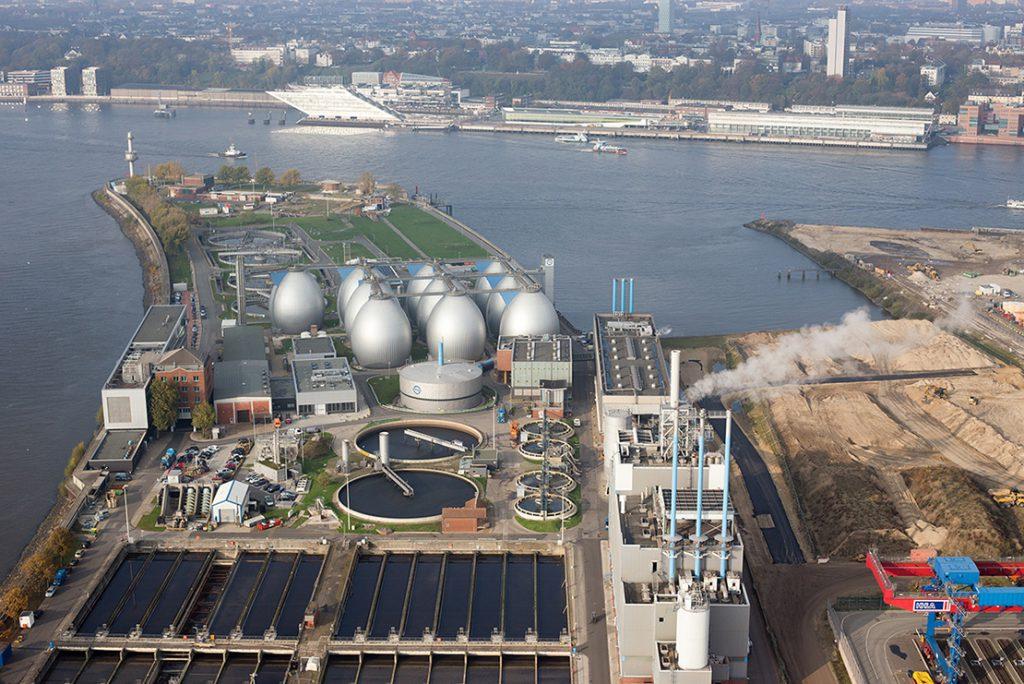 آلمان – هامبورگ | یکی از پیشرفتهترین پایگاههای تصفیه فاضلاب برای تولید انرژی و گرما