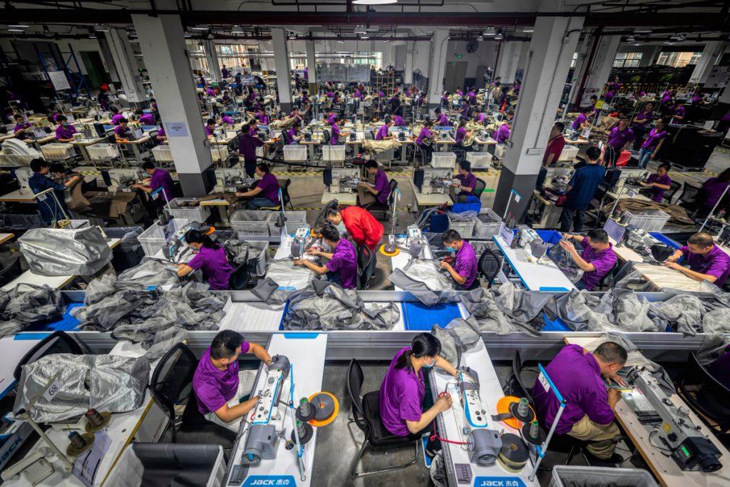 نیروی کار ارزان در چین