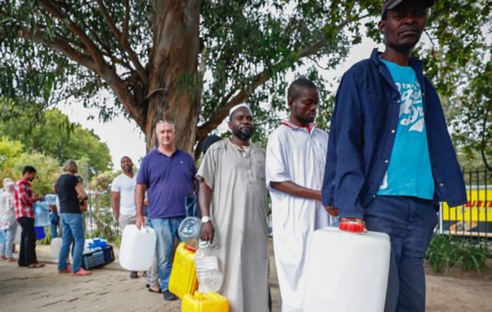 آفریقای جنوبی و بحران آب
