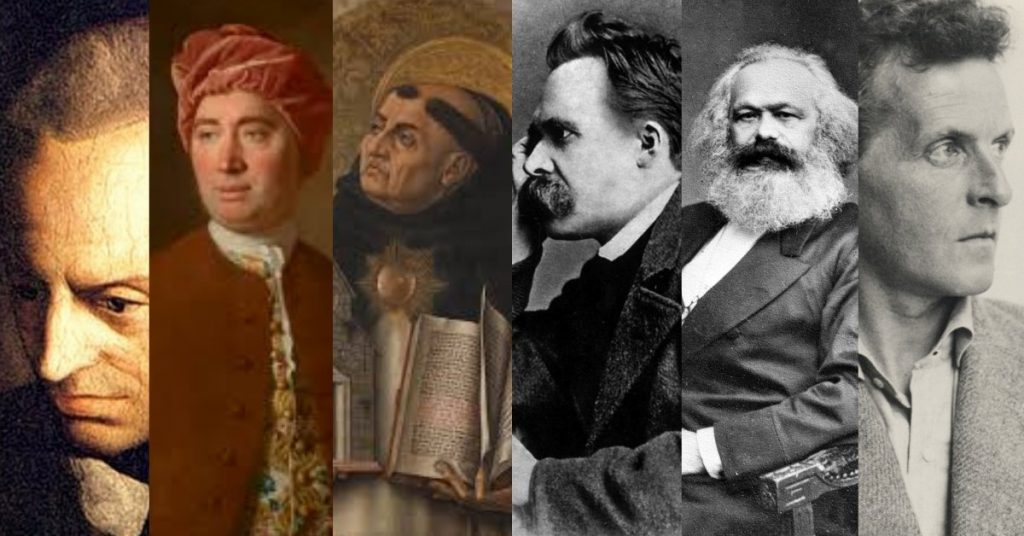 تفکرات فیلسوفان به تاریخ