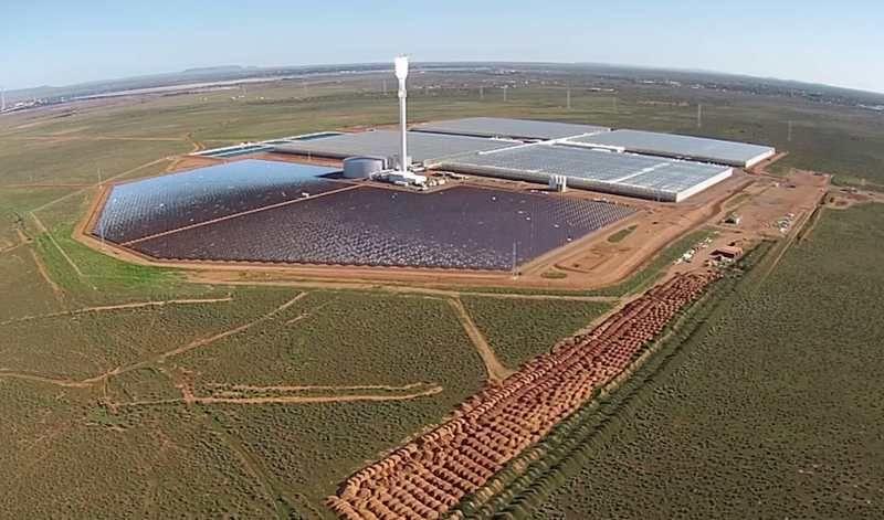 کشاورزی در دل کویر با آب دریا در استرالیا