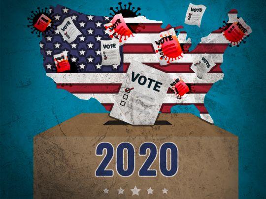 انتخابات آمریکا- ترامپ و بایدن