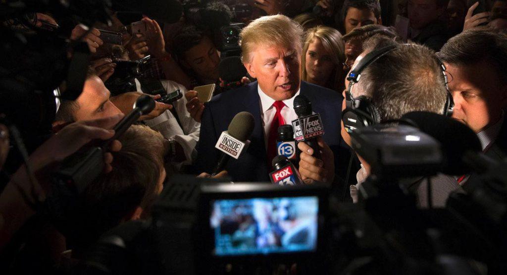جنگیدن ترامپ با ابر رسانهها
