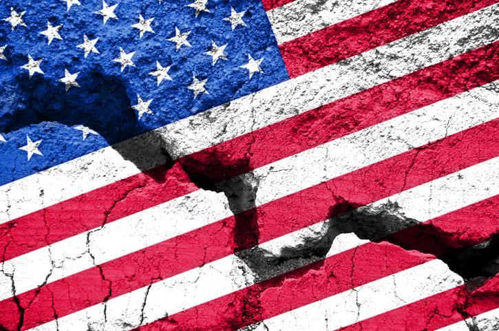 دوقطبی شدن آمریکا