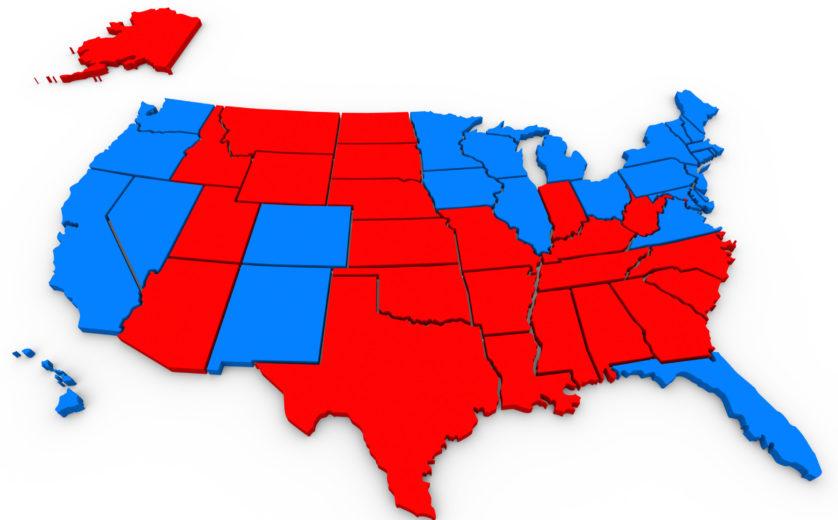 میزان مشارکت در انتخابات امریکا
