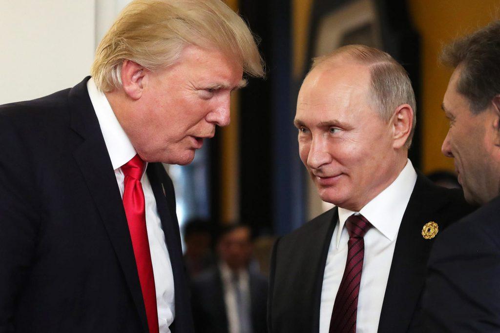 حمایت پوتین از ترامپ