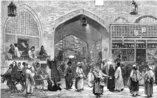 بازار قدیم ایران