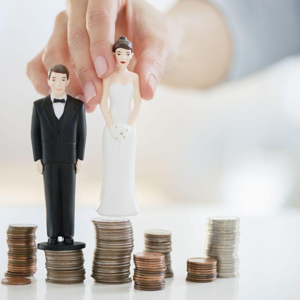 زن پولدارتر نرخ طلاق بالاتر