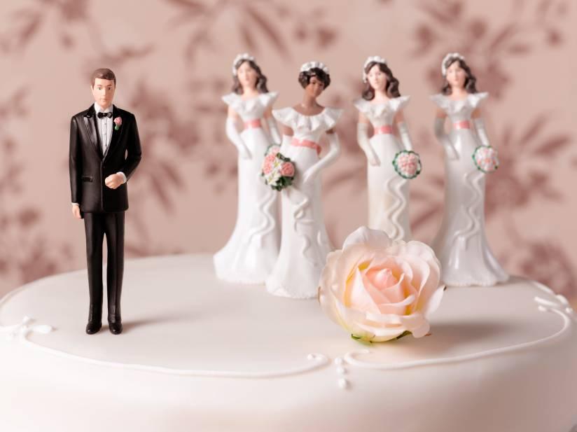 شانس ازدواج بیشتر برای مردان