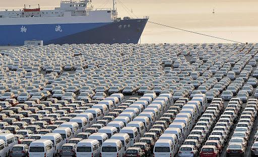 صادرات خودرهای چینی در جهان