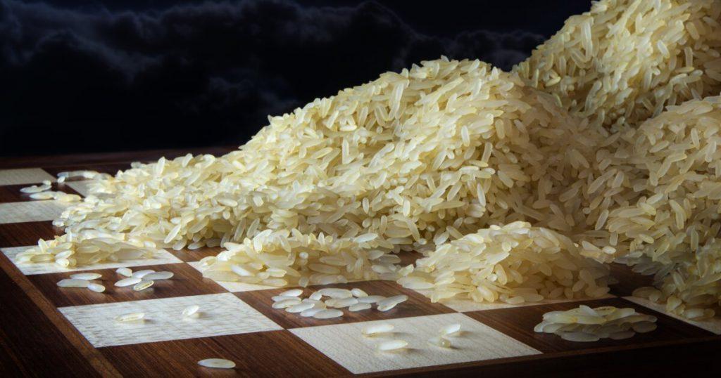 رشد نمایی مثال شطرنج
