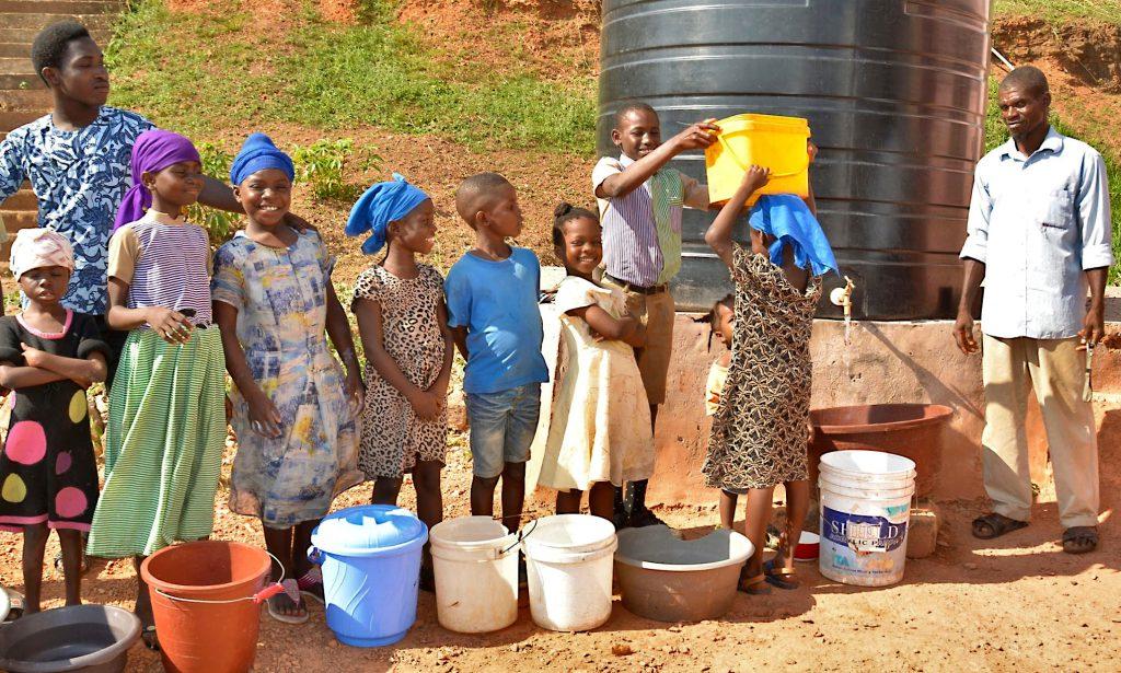کمبود آب در آفریقا