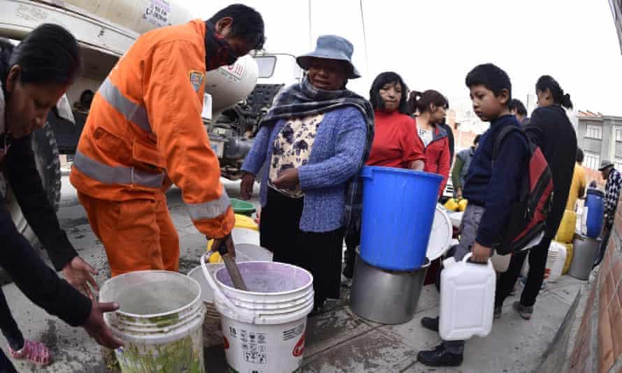 خصوصی سازی آب در بولیوی